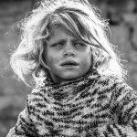 Child-gipsy-Romania-bw-photoshop