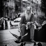 beard-man-dove-photoshop-b&w